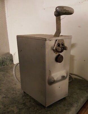 2 -Speed Electric #10 Can Opener 115V Commercial Kitchen Food Service Restaurant