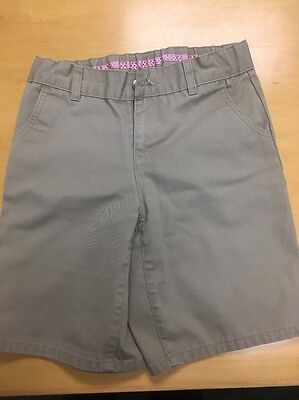 Girls Uniform Shorts Size 10