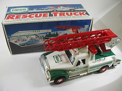 1994 Hess Annual Holiday Collectible Rescue Truck — MIB!!