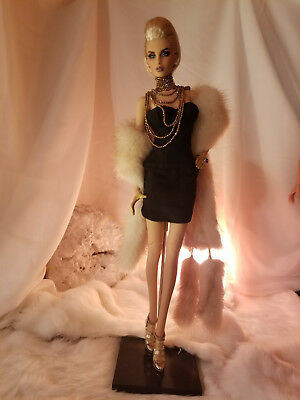 """LE """"Corset Style"""" minidress for 16"""" Fashion Dolls Fits Sybarite, Tonner, KD"""