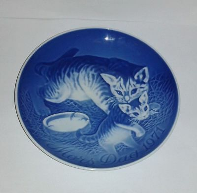 """Bing & Grondahl MOTHER'S DAY * Cat * Plate (6"""") - 1971 B&G Collectible Plate"""