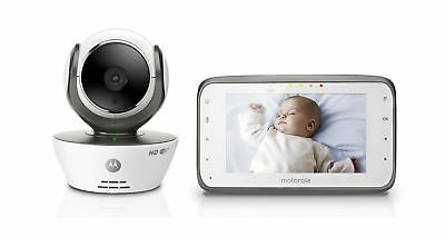Motorola MBP854CONNECT Dual Mode Baby Monitor with 4.3-Inch LCD Par... 2DAY SHIP
