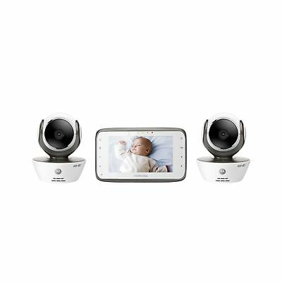 Motorola MBP854CONNECT-2 Dual Mode Baby Monitor with 2 Cameras and ... 2DAY SHIP