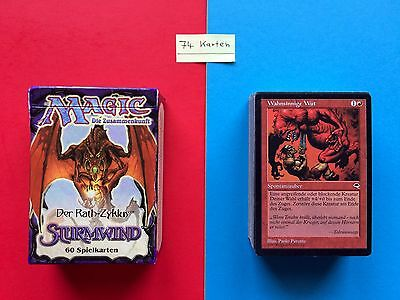 MAGIC Karten RATH ZYKLUS Sturmwind 60 Starter DECK MtG CARD Box OVP Lotus INTRO