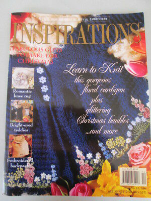 Inspirations embroidery magazine Issue no 12.