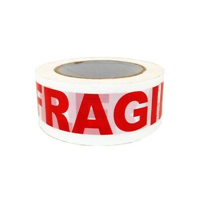 """1 Roll 2""""x110 Yards Fragile Handle with Care Packing Shipping Box Sealing Tape"""