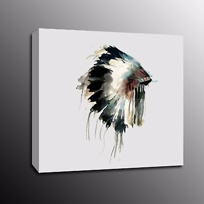 Modern Abstract Fish Canvas Print Wall Art Oil Painting Poster Home Decor