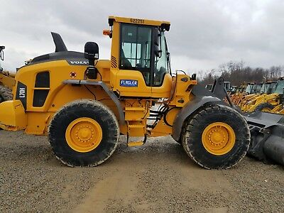 2015 Volvo L70H Quick coupler,deluxe cab,loaded has all options case cat komatsu