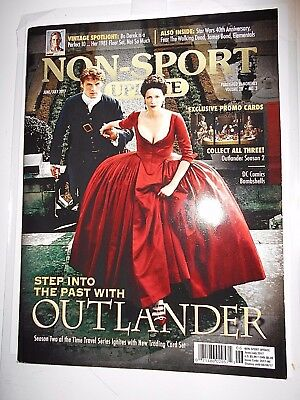 June/July 2017 Non-Sport Update Magazine Outlander Vol. 28 #3 (NO Cards) NM