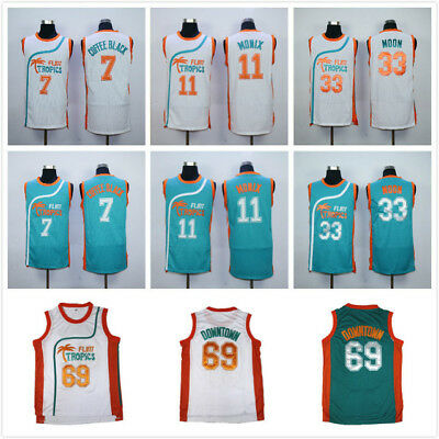 a66d5590e2e3 JACKIE MOON 33 Flint Tropics Will Ferrell Semi Pro Movie Basketball ...