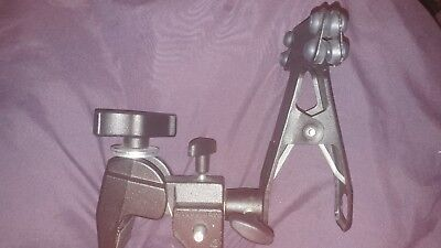 Manfrotto Black Super Clamps 035 Spring Clamps 175 Made in italy