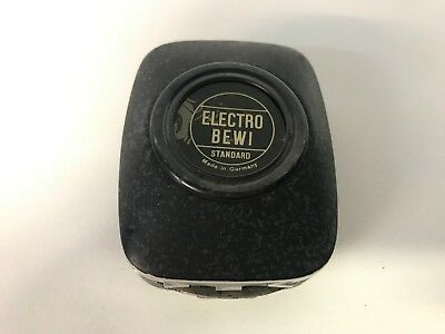 Vintage Electro Bewi Standard Light Meter Made In Germany