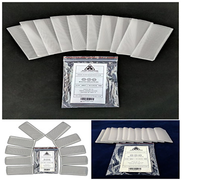 Rosin Press Filter Bag 2x4 in. 160 micron (10 pack) - Solventless Extraction Kit