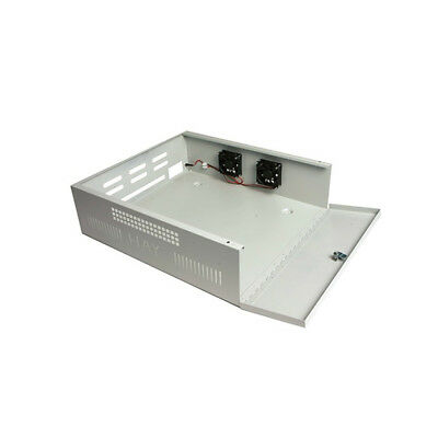 Haydon Large Lockable Steel DVR NVR Enclosure with Fans