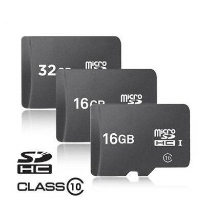 San-Disk 16GB 32GB Micro SD SDHC Class 10 C10 TF Flash Memory Card Adapter Lot