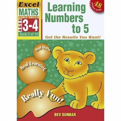 Excel Early Skills Maths Book 2 Numbers to 5