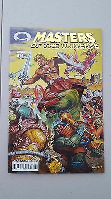 MASTERS OF THE UNIVERSE #1 - GOLD FOIL VARIANT - 1st INVINCIBLE PREVIEW