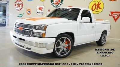 2006 Chevrolet Silverado 1500 06 SILVERADO 1500 REGULAR CAB,V8,5 SPD,LOWERED,LTH 06 SILVERADO 1500 REGULAR CAB,V8,5 SPD,LOWERED,LTH,CHROME 20'S,49K,WE FINANCE!!