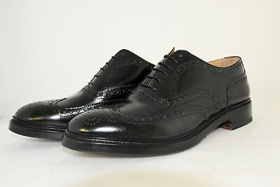 MAN-8eu-9us-OXFORD WINGTIP-FRANCESINA-BLACK SHINE CALF-VITELLO-LEATHER SOLE