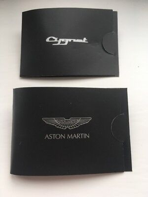 Official Aston Martin Pin Badge x2 - Cygnet & Rapide - Brand New