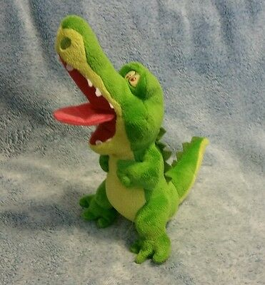 """Disney Jake And The Never Land Pirates Tic Toc Alligator Plush Just Play Toy 10"""""""