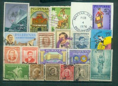 Lot Briefmarken von den Philippinen