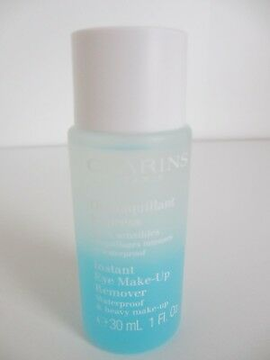 BN Clarins Instant Eye Make-up Remover Waterproof & heavy Make-up 30ml TRAVEL
