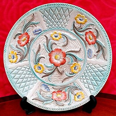 Charlotte Rhead era Vintage collectable H J Wood Staffordshire Plate