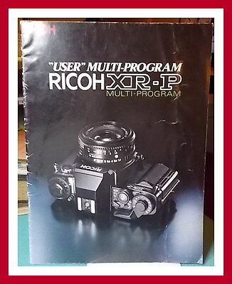 🔴REDUCED  RICOH XR-P USER MULTI PROGRAM  Sales / Marketing Brochure Used Accpt