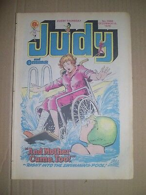 Judy issue 1040 dated December 15 1979 cut out on back cover