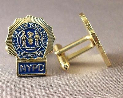 Detective cufflinks. Police. Police Department Cuff links.