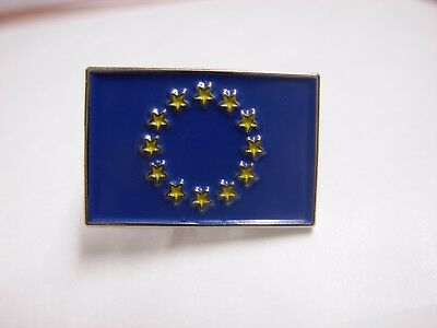 EU flag collectable pin badge. European Union. Europe. Brussels. Brexit