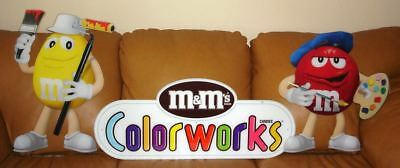 3 Piece M&M's Colorworks Display