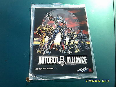 Transformers Autobot Alliance Limited Edition Holographic 3D Print