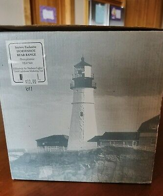 Harbour Lights # 560 HORSESHOE REAR RANGE Fresnel lens Pennsylvania RARE ocean