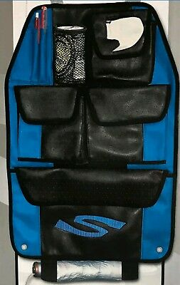 Luxury Back Seat Organiser Tidy Sportex Type S Synthetic Leather NEW