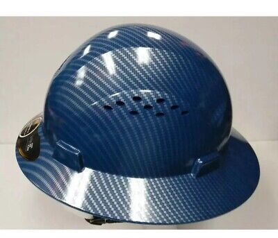Full Brim Hard Hat Construction Safety Works Helmet protect