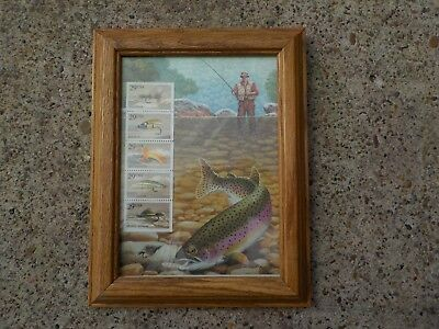 Fishing Flies Commemorative Stamps...Chuck Ripper Issued May 31, 1991