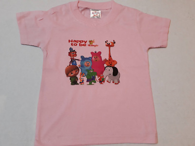 Babytv t-shirt PINK billy bam bam charlie and characters 18-24 months