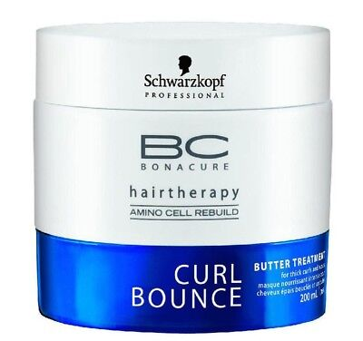 Schwarzkopf BC Curl Bounce Butter Treatment for Thick Curl & Wavy 200ml/6.8 oz