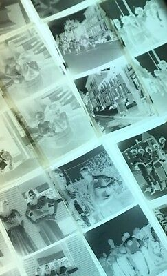 Lot of 240+ Vintage 1950s Photograph Film Negatives Family / Parade / Graduation