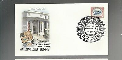 Us Fdc First Day Cover # 4806  Inverted Jenny Air Mail  2013  Artcraft