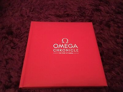 Omega Chronicle History Book - HB 1848 - 2014 - Very Rare
