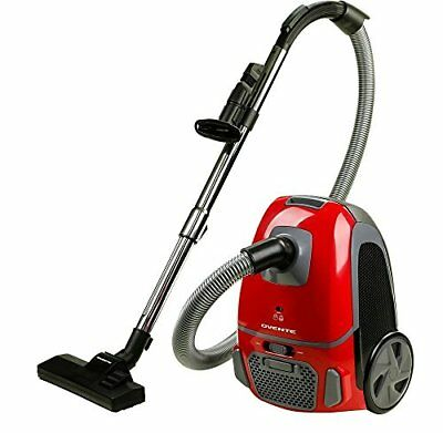 Ovente Canister Vacuum with Tri-Level Filtration ST1600 Series:Dust Bag, Outlet