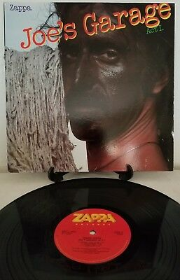 Frank Zappa Joe's Garage, Act I, 1979 Zappa Recs Gatefold With Booklet