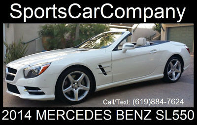 2014 Mercedes-Benz SL-Class SL 550 ROADSTER 2014 MERCEDES BENZ SL550 ROADSTER LOADED LOW MILE (8k+) ABSOLUTELY STUNNING CALL