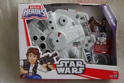 Star Wars Galaxy Heroes MILLENIUM FALCON - Brand new - Playskool