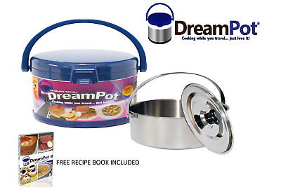 DreamPot Thermal 3L Camping, Home, Caravan,Travel, Slow Cooker