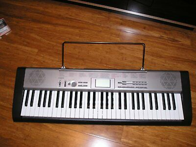 Casio Key Lighting Keyboard With Bonus Keyboard Stand