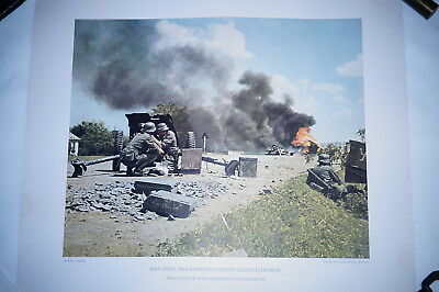 WW2 German Original Colour Press Release PR Print 15